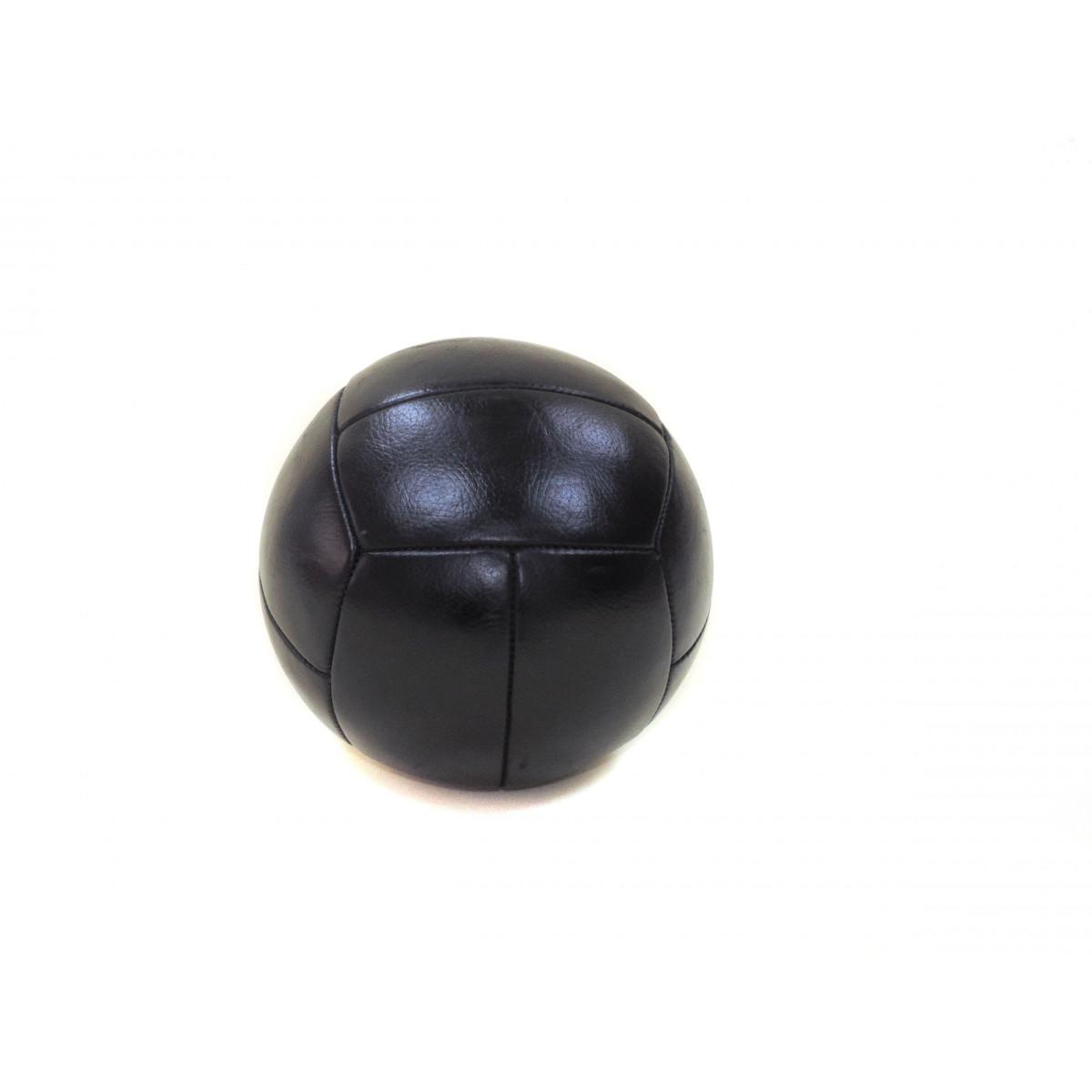 Медбол 3,5 кг, 4,5 кг  (кожа)