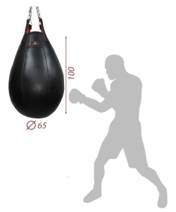 Груша боксерская XL (кожа)