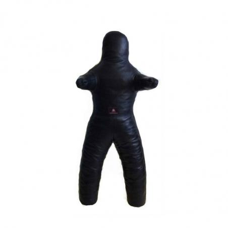 Манекен борцовский с ногами (кожа)