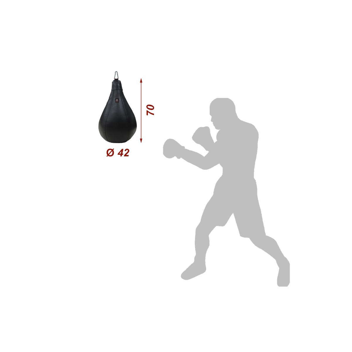 Груша боксерская малая (кожа)